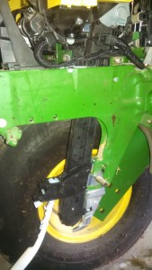 PP speed tube on 1790 JD tractor