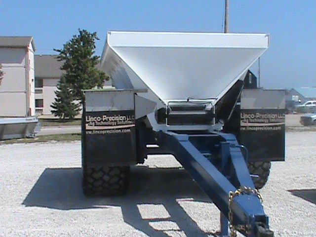 Pull type dry spreaders linco precision llc for Hillside elevator kit